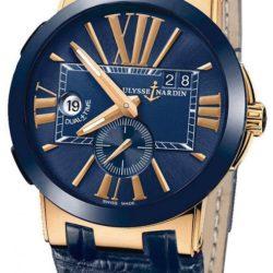 Ремонт часов Ulysse Nardin 246-00-5/43 Executive Dual Time 43mm в мастерской на Неглинной