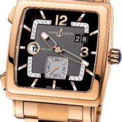 Ремонт часов Ulysse Nardin 246-92-8M/692 Quadrato Dual Time в мастерской на Неглинной