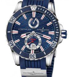 Ремонт часов Ulysse Nardin 263-10-3/93 Maxi Marine Diver Marine Diver Steel в мастерской на Неглинной