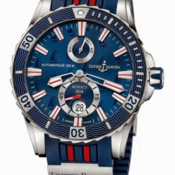 Ремонт часов Ulysse Nardin 263-10LE-3/93_MON Maxi Marine Diver Monaco 2014 в мастерской на Неглинной