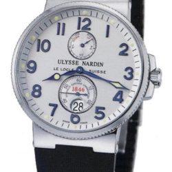 Ремонт часов Ulysse Nardin 263-66-3 Maxi Marine Chronometer 41mm Steel в мастерской на Неглинной