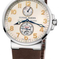 Ремонт часов Ulysse Nardin 263-66-3/60 Maxi Marine Chronometer 41mm Steel в мастерской на Неглинной