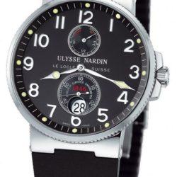 Ремонт часов Ulysse Nardin 263-66-3/62 Maxi Marine Chronometer 41mm Steel в мастерской на Неглинной