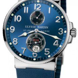 Ремонт часов Ulysse Nardin 263-66-3/623 Maxi Marine Chronometer 41mm Steel в мастерской на Неглинной