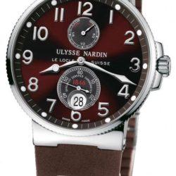 Ремонт часов Ulysse Nardin 263-66-3/625 Maxi Marine Chronometer 41mm Steel в мастерской на Неглинной