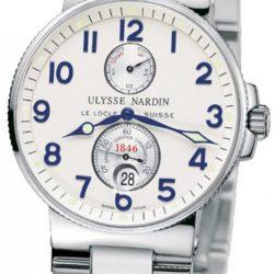 Ремонт часов Ulysse Nardin 263-66-7 Maxi Marine Chronometer 41mm Steel в мастерской на Неглинной