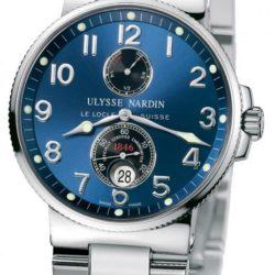 Ремонт часов Ulysse Nardin 263-66-7/623 Maxi Marine Chronometer 41mm Steel в мастерской на Неглинной