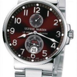Ремонт часов Ulysse Nardin 263-66-7/625 Maxi Marine Chronometer 41mm Steel Bracelet в мастерской на Неглинной
