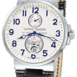 Ремонт часов Ulysse Nardin 263-66 Maxi Marine Chronometer 41mm Steel в мастерской на Неглинной