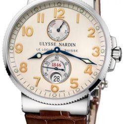 Ремонт часов Ulysse Nardin 263-66/60 Maxi Marine Chronometer 41mm Steel в мастерской на Неглинной
