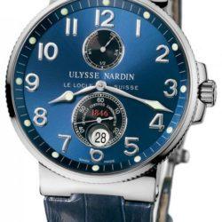 Ремонт часов Ulysse Nardin 263-66/623 Maxi Marine Chronometer 41mm Steel в мастерской на Неглинной
