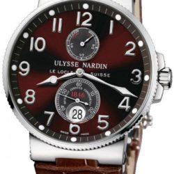 Ремонт часов Ulysse Nardin 263-66/625 Maxi Marine Chronometer 41mm Steel в мастерской на Неглинной