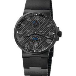 Ремонт часов Ulysse Nardin 263-66LE-3C/42-Black Maxi Marine Chronometer 41mm Steel PVD в мастерской на Неглинной