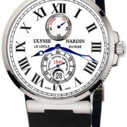 Ремонт часов Ulysse Nardin 263-67-3/40 Maxi Marine Chronometer 43mm Steel в мастерской на Неглинной
