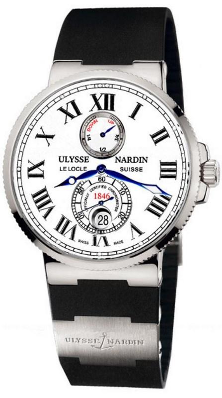 был часы ulysse nardin maxi marine chronometer 43mm весеннего типа, лучше
