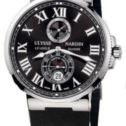 Ремонт часов Ulysse Nardin 263-67-3/42 Maxi Marine Chronometer 43mm Steel в мастерской на Неглинной