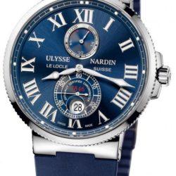 Ремонт часов Ulysse Nardin 263-67-3/43 Maxi Marine Chronometer 43mm Steel в мастерской на Неглинной