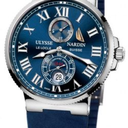 Ремонт часов Ulysse Nardin 263-67-3/43YAC Maxi Marine Chronometer 43mm Super Yacht Cup 2009 Limited Edition 99 в мастерской на Неглинной