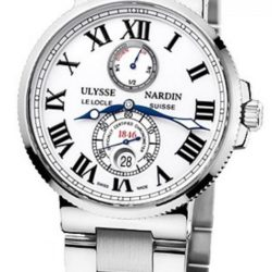 Ремонт часов Ulysse Nardin 263-67-7/40 Maxi Marine Chronometer 43mm Steel Bracelete в мастерской на Неглинной