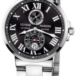 Ремонт часов Ulysse Nardin 263-67-7/42 Maxi Marine Chronometer 43mm Steel Bracelete в мастерской на Неглинной