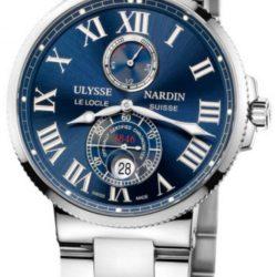 Ремонт часов Ulysse Nardin 263-67-7/43 Maxi Marine Chronometer 43mm Steel Bracelete в мастерской на Неглинной