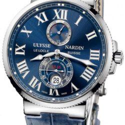 Ремонт часов Ulysse Nardin 263-67/43 Maxi Marine Chronometer 43mm Steel в мастерской на Неглинной
