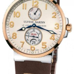 Ремонт часов Ulysse Nardin 265-66-3/60 Maxi Marine Chronometer 41mm Steel RG в мастерской на Неглинной