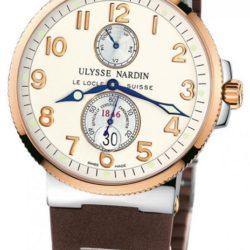 Ремонт часов Ulysse Nardin 265-66-3T/60 Maxi Marine Chronometer 41mm Steel Rose Gold в мастерской на Неглинной