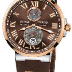 Ремонт часов Ulysse Nardin 265-67-3/45 Maxi Marine Chronometer 43mm Rose Gold Steel в мастерской на Неглинной