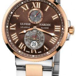 Ремонт часов Ulysse Nardin 265-67-8/45 Maxi Marine Chronometer 43mm Rose Gold Steel в мастерской на Неглинной