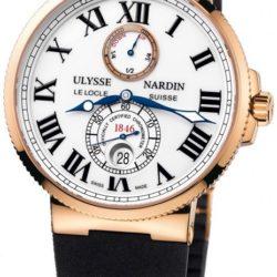 Ремонт часов Ulysse Nardin 266-67-3/40 Maxi Marine Chronometer 43mm Rose Gold в мастерской на Неглинной