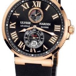 Ремонт часов Ulysse Nardin 266-67-3/42 Maxi Marine Chronometer 43mm Rose Gold в мастерской на Неглинной