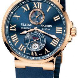 Ремонт часов Ulysse Nardin 266-67-3/43 Maxi Marine Chronometer 43mm Rose Gold в мастерской на Неглинной