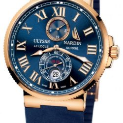 Ремонт часов Ulysse Nardin 266-67-3/43YAC Maxi Marine Chronometer 43mm Super Yacht Cup 2009 Limited Edition 50 в мастерской на Неглинной