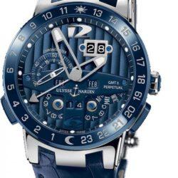 Ремонт часов Ulysse Nardin 320-00/BQ Perpetual Calendar 43 mm в мастерской на Неглинной