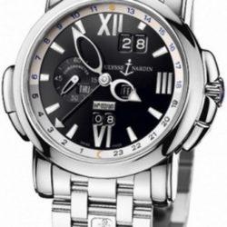 Ремонт часов Ulysse Nardin 320-60-8/32 Perpetual Calendar GMT в мастерской на Неглинной