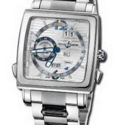 Ремонт часов Ulysse Nardin 320-90-8M/91 Quadrato Quadrato Dual Time Perpetual в мастерской на Неглинной