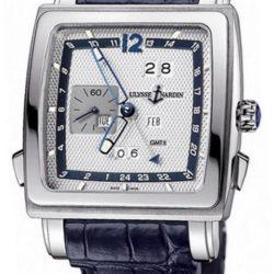 Ремонт часов Ulysse Nardin 320-90/61 Quadrato Quadrato Dual Time Perpetual в мастерской на Неглинной