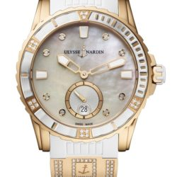Ремонт часов Ulysse Nardin 3202-190-3C/10.10 Lady Diver 40 mm в мастерской на Неглинной