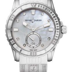 Ремонт часов Ulysse Nardin 3203-190-3C/10.10 Lady Diver 40 mm в мастерской на Неглинной
