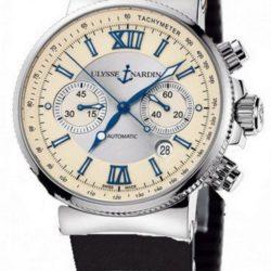 Ремонт часов Ulysse Nardin 353-66-3/314 Maxi Marine Chronograph Steel в мастерской на Неглинной