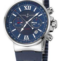 Ремонт часов Ulysse Nardin 353-66-3/323 Maxi Marine Chronograph Steel в мастерской на Неглинной