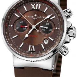 Ремонт часов Ulysse Nardin 353-66-3/355 Maxi Marine Chronograph Steel в мастерской на Неглинной