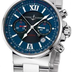Ремонт часов Ulysse Nardin 353-66-7/323 Maxi Marine Chronograph Steel Bracelet в мастерской на Неглинной