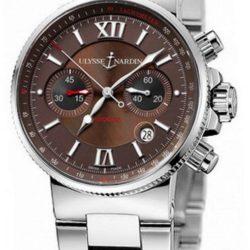 Ремонт часов Ulysse Nardin 353-66-7/355 Maxi Marine Chronograph Steel Bracelet в мастерской на Неглинной