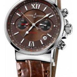 Ремонт часов Ulysse Nardin 353-66/355 Maxi Marine Chronograph Steel в мастерской на Неглинной