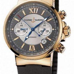 Ремонт часов Ulysse Nardin 356-66-3/319 Maxi Marine Chronograph RG в мастерской на Неглинной
