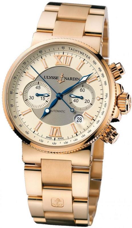 часы ulysse nardin marine chronograph 356 66 требуется осторожность