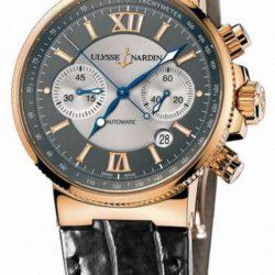 Ремонт часов Ulysse Nardin 356-66/319 Maxi Marine Chronograph RG в мастерской на Неглинной