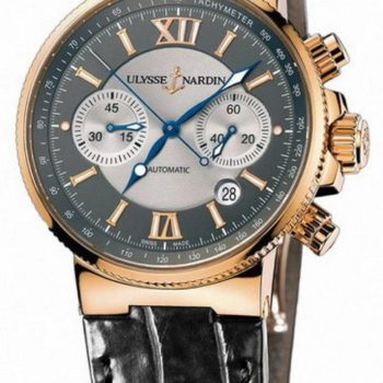часы ulysse nardin marine chronograph 356 66 себе